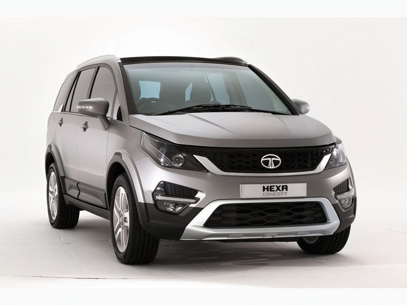Upcoming Tata Hexa 2016 SUV launched in 2016 Auto Expo