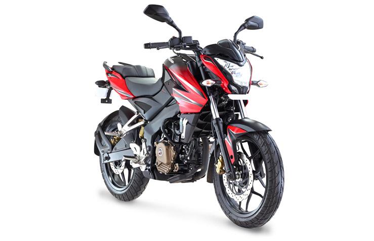 Bajaj Pulsar 200NS Red Free HD Wallpaper Download