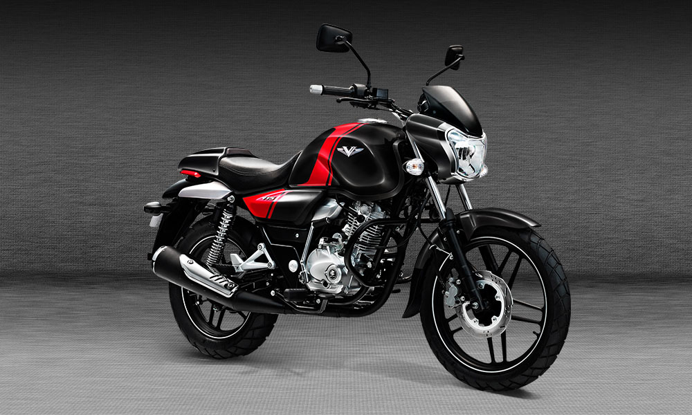 Bajaj V Black HD Wallpaper