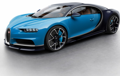 Bugatti Chiron showcased at 2016 Geneva Motors Show