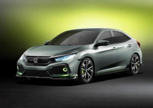 Honda Civic Hatchback Prototype Officially Unleashed at 2016 Geneva Motor Show