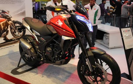 Upcoming Honda CX-01 Concept Bike