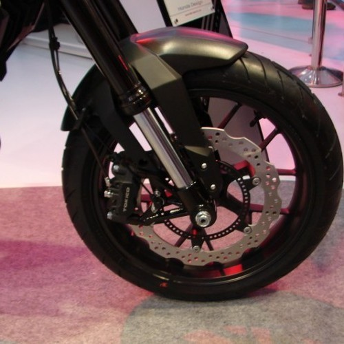 Honda CX01 Front Wheel