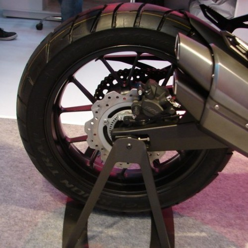 Honda CX01 Rear Alloy Wheel With Disc Brake