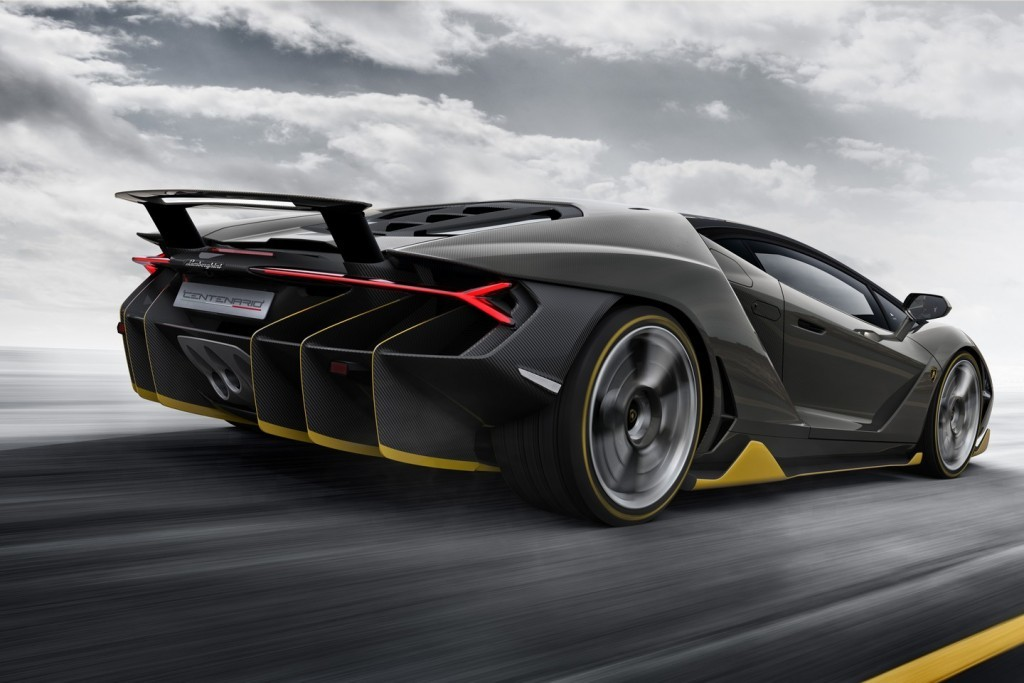 Lamborghini Centenario HD Image Side view