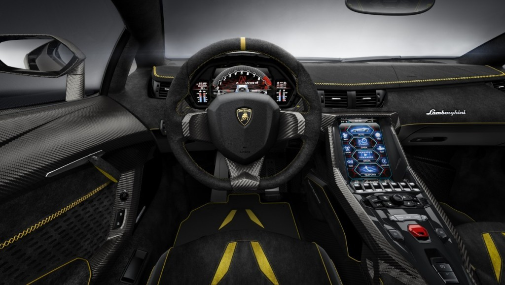 Lamborghini Centenario Interior HD Photo