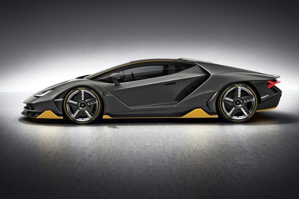Lamborghini Centenario Side View