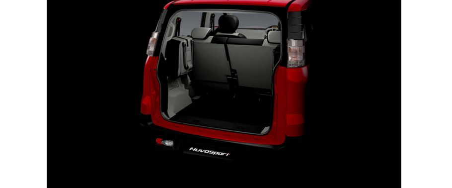 Mahindra NuvoSport Boot Space