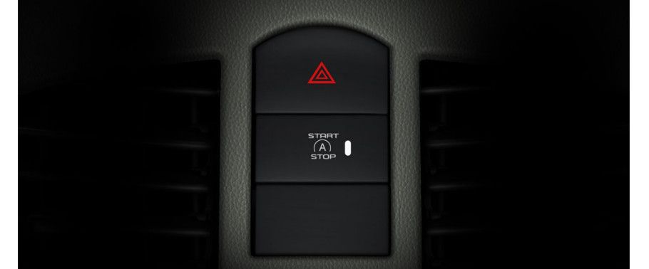 Mahindra NuvoSport Start Stop Button