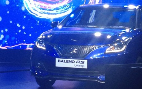 Maruti Baleno RS 1.0 liter launched at the 2016 Auto Expo in India