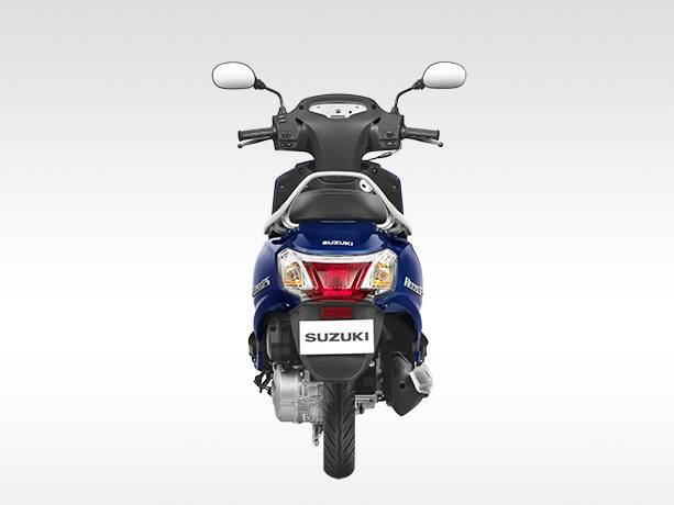 New Suzuki Access 125 2016 Rear View with Light