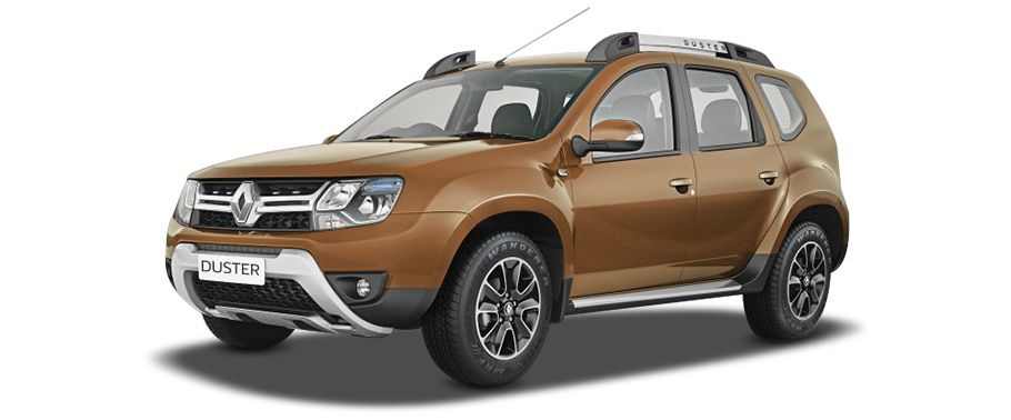 Renault Duster Brown exterior