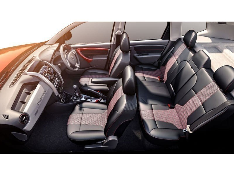 Renault Duster Cabin Space with Seat