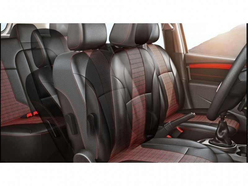Renault Duster Front Foldable seat