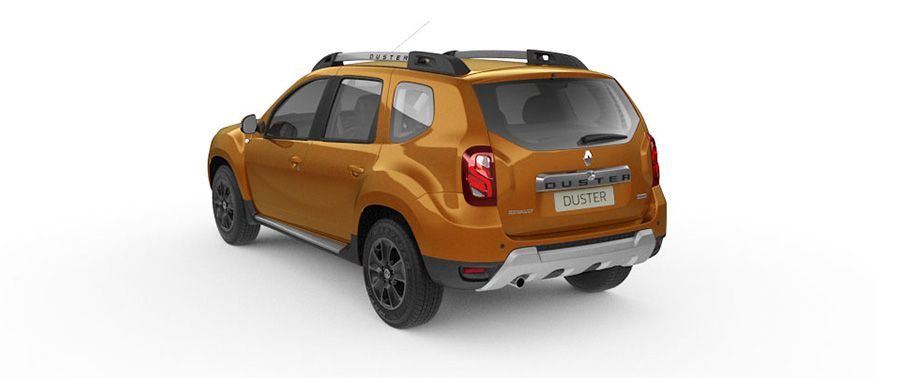 Renault Duster Rear View