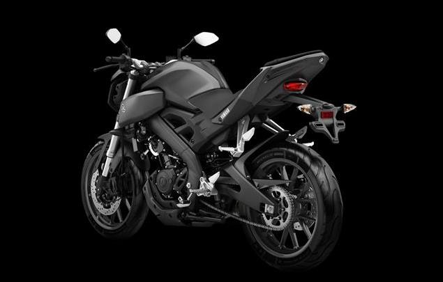 Yamaha MT-125 Rear View HD Picture