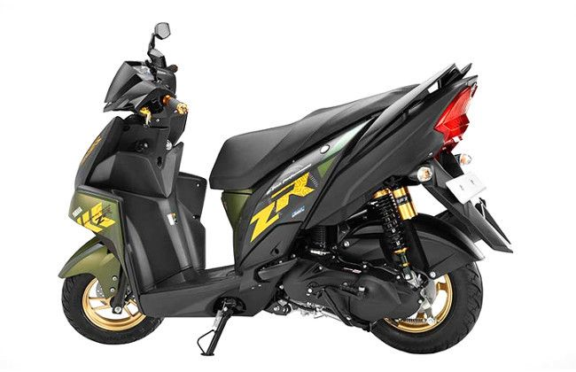 Yamaha Cygnus Ray ZR Rear View HD Picture