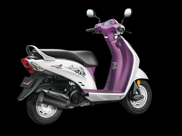 Honda Activa i Back View