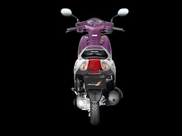 Honda Activa i Rear View