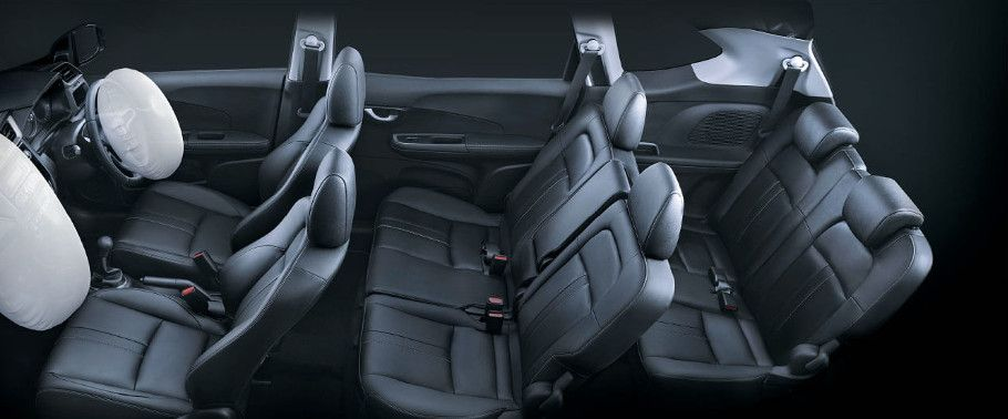 Honda BRV Cabin with seat