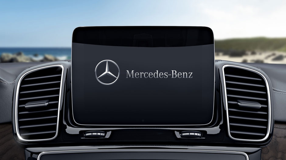 Mercedes-Benz GLS Front Music Touch Screen Display