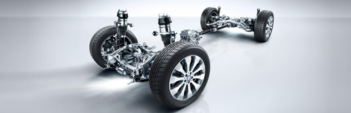 Mercedes-Benz GLS Suspension System
