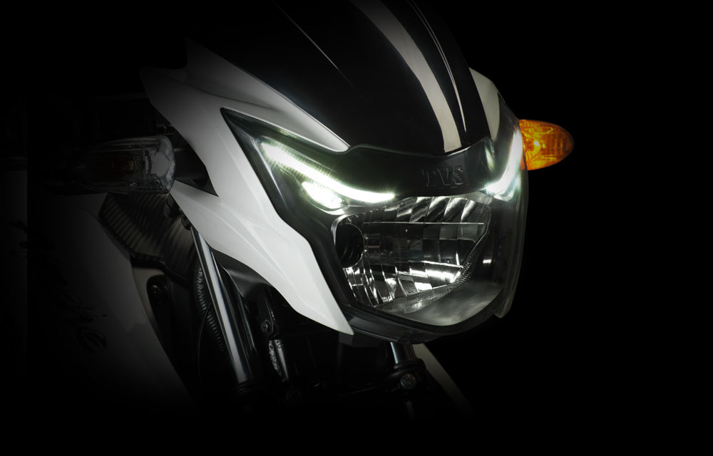 TVS Apache RTR 160 Front Headlight