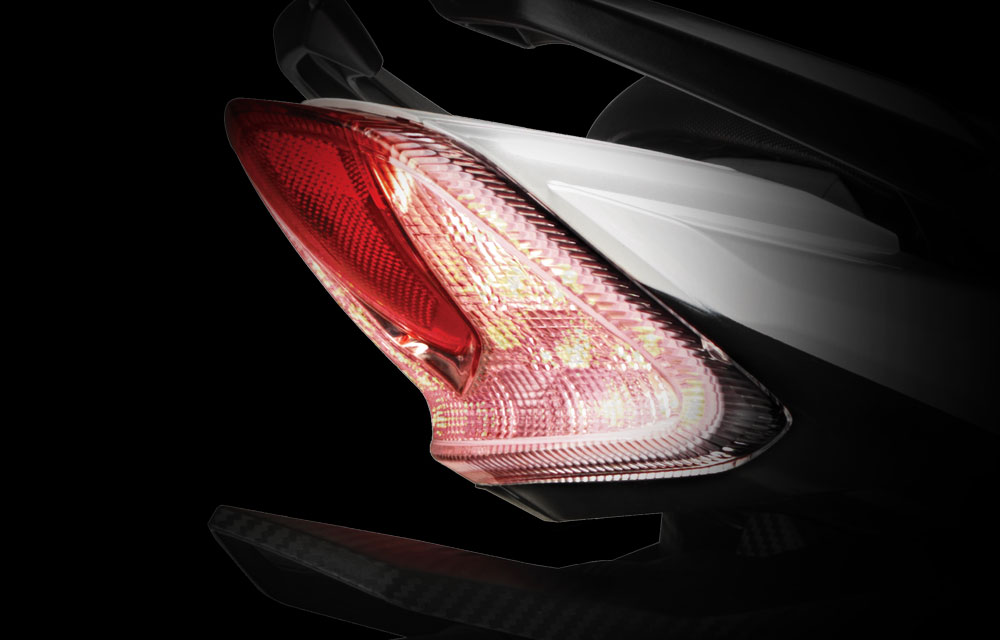 TVS Apache RTR 160 LED Tail Lamp