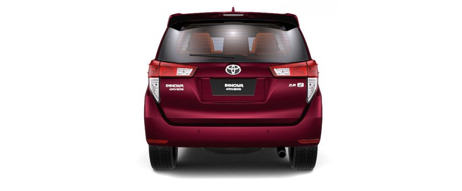 Toyota Innova Crysta Back View