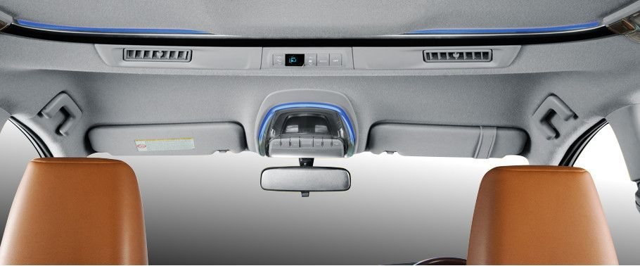 Toyota Innova Crysta Front Interior View