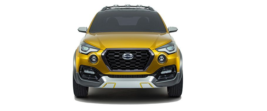 Datsun GO Cross Front View
