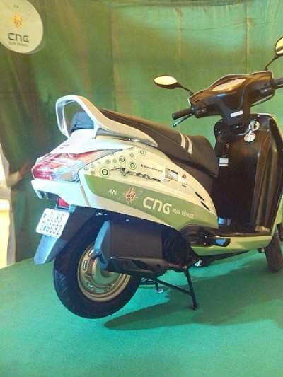 Honda Activa CNG Rear View