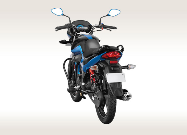 Hero Splendor iSmart 110 Back View