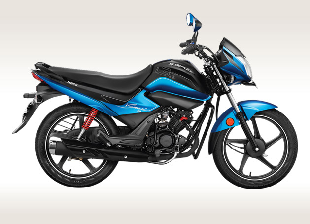 Hero Splendor iSmart 110 Side View