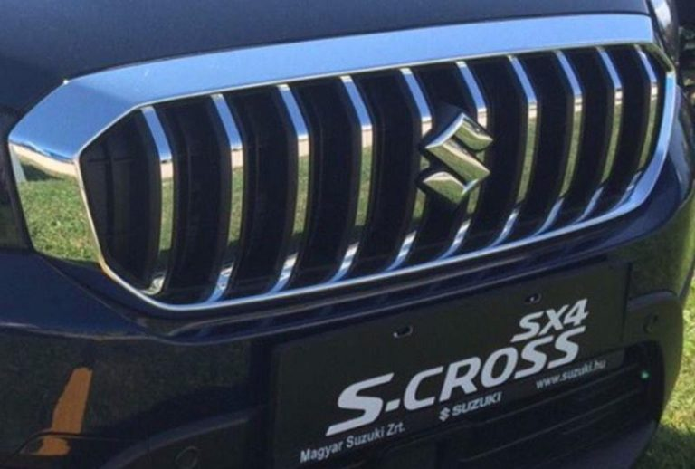 Maruti Suzuki S Cross 2017 facelift Chrome Grill