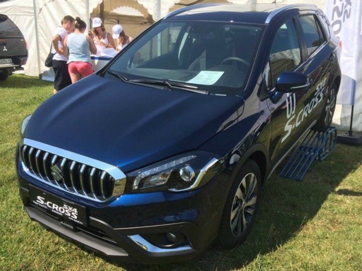 2017 upcoming Suzuki S-Cross facelift