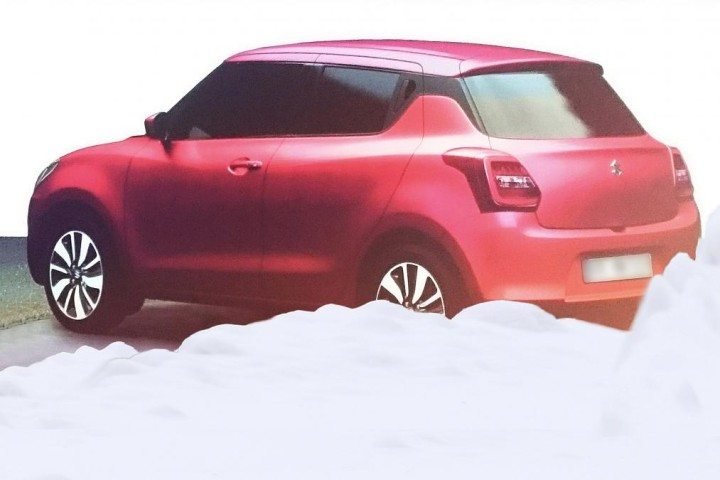 Maruti Suzuki Swift 2017 Back View