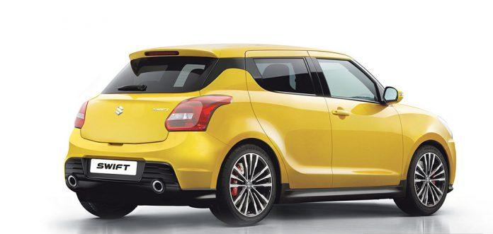 Maruti Suzuki Swift 2017 Rear View