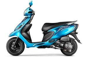 TVS Scooty Zest 110 - Rs. 45,738 - 46,338*