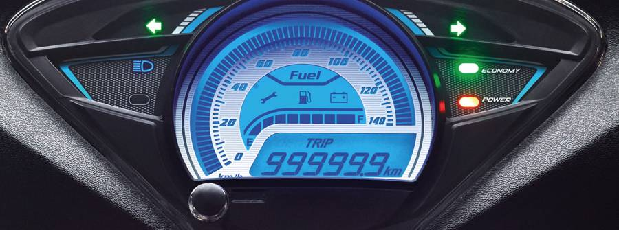 TVS Wego Fully Digital Speedometer