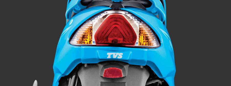 TVS Wego led tail light