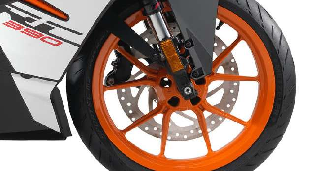 2017 KTM RC 390 Alloy Wheel