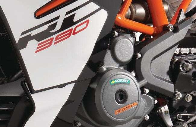 2017 KTM RC 390 Engine