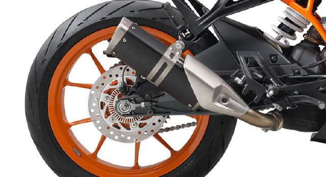 2017 KTM RC 390 Exhaust