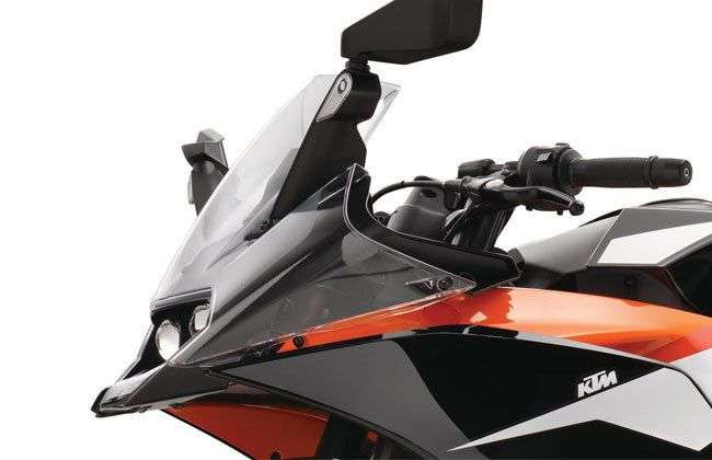 2017 KTM RC 390 Headlight