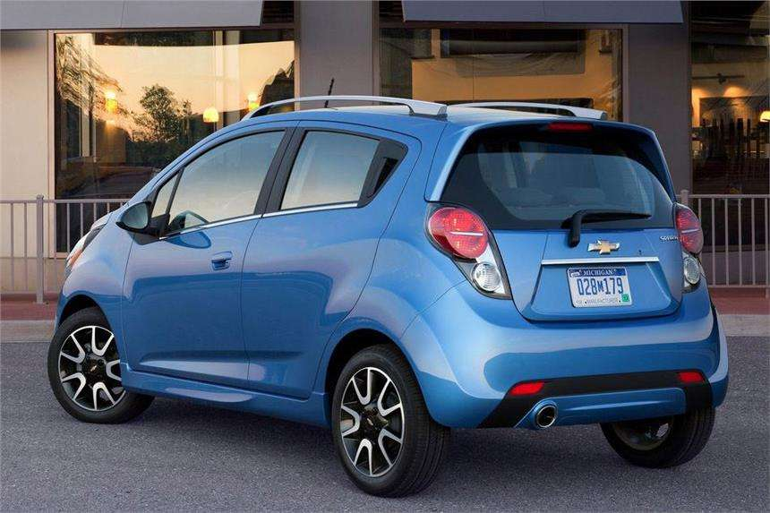 Chevrolet Beat Facelift 2017