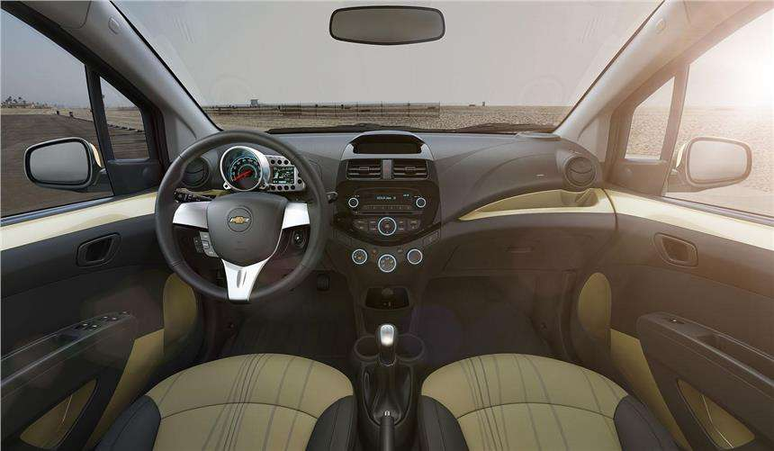 Chevrolet Beat Facelift Dashboard