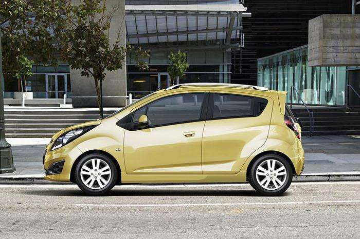 Chevrolet Beat Facelift HD Image