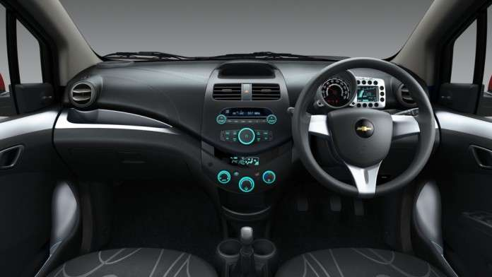 Chevrolet Beat Facelift Interior