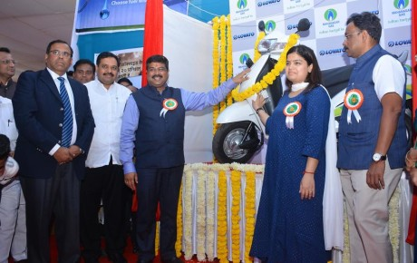 MGL Launches CNG Kits for Automatic Scooters (Scooty) in India (Mumbai)